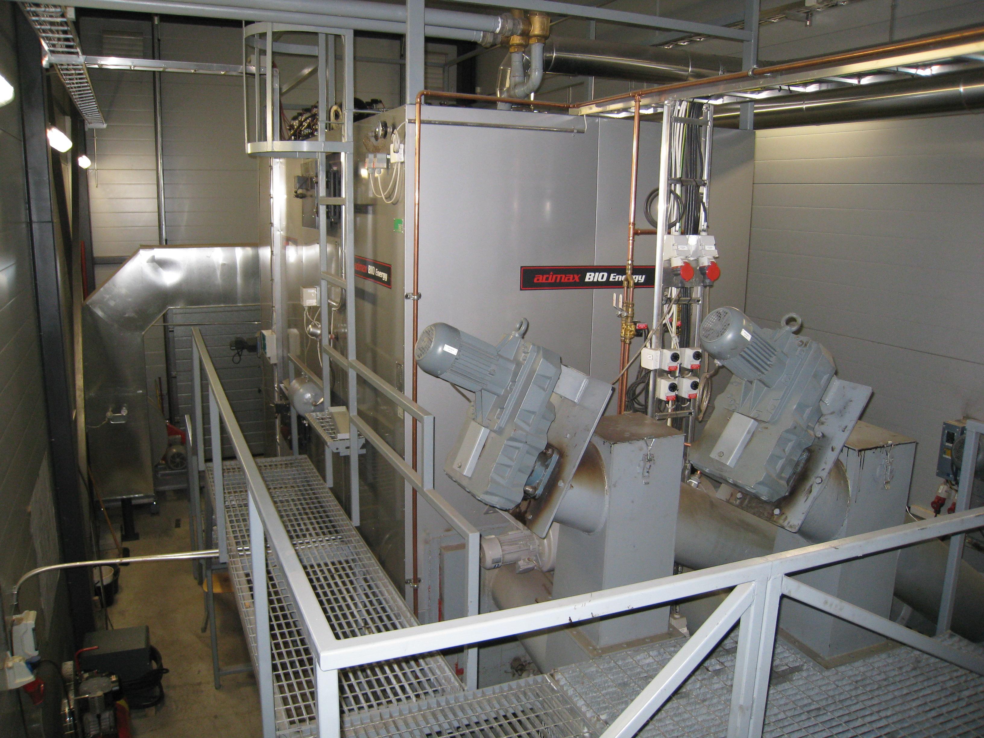 2,5 megawatin biopolttoainekattila.