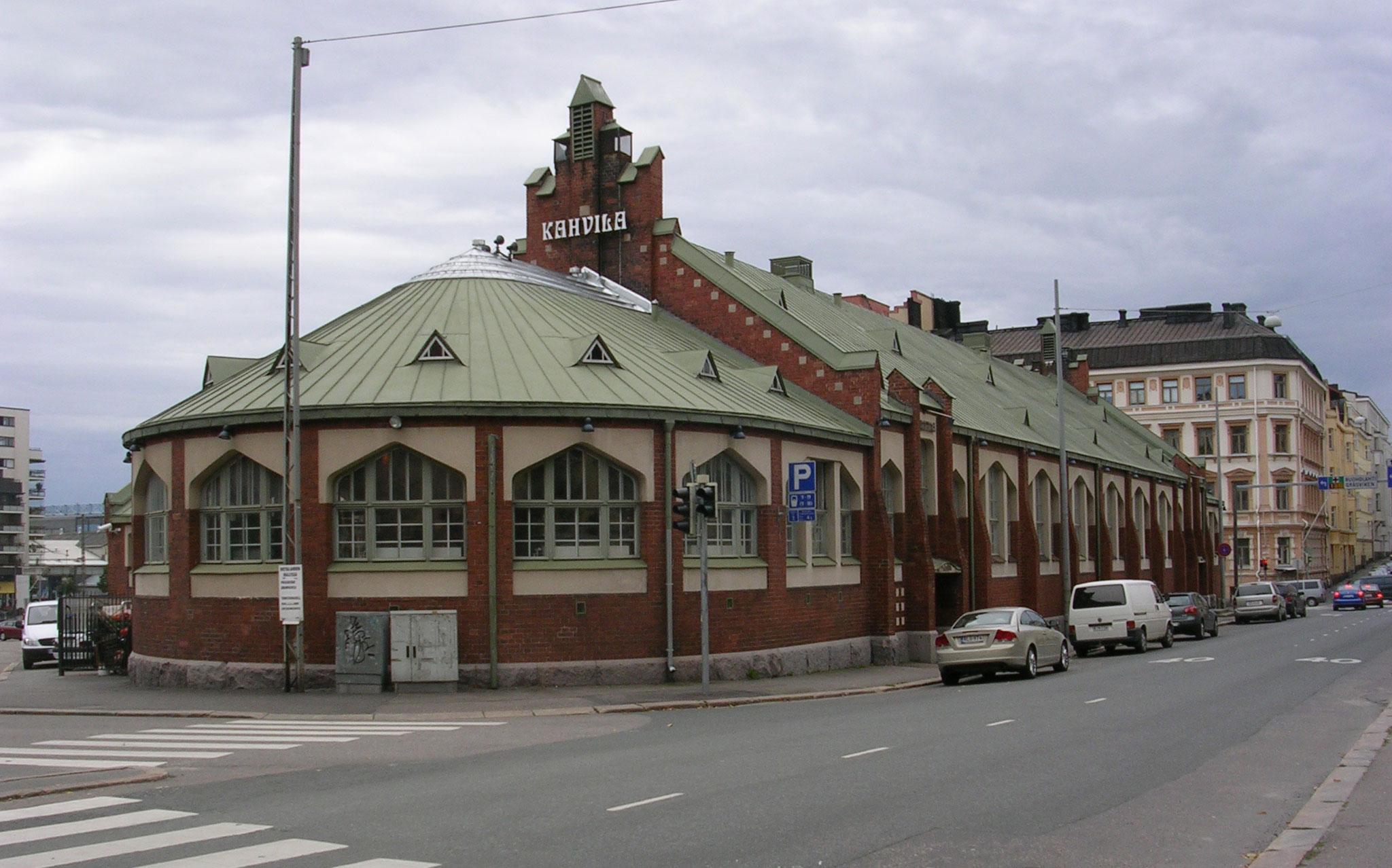 Kauppahallit Helsinki