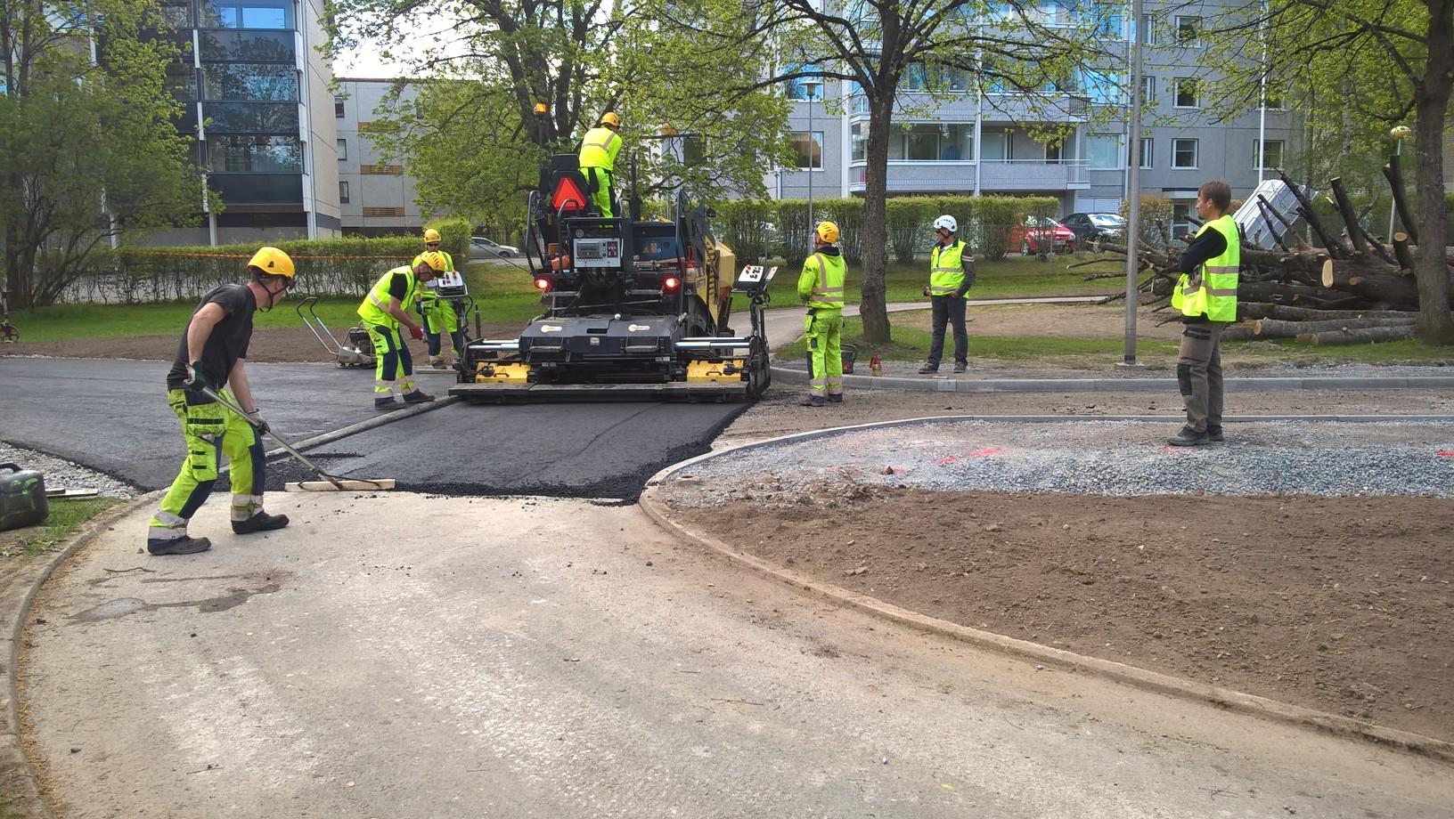 Kaurialan liikennepuisto uudistettiin kevään aikana ja avattiin torstaina 2. kesäkuuta. (kuva: Hämeenlinnan kaupunki)