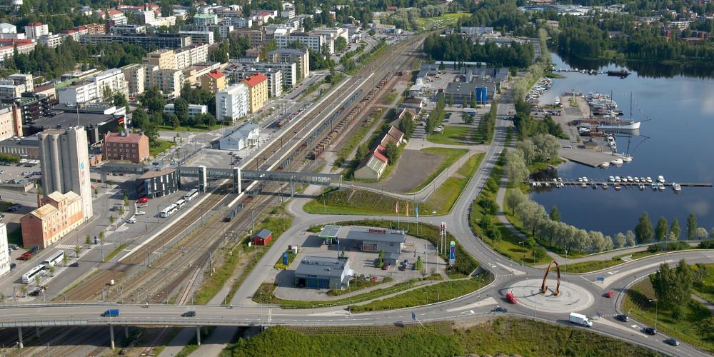 Mikkelissä on tehty paljon Green Leaf -ideologiaan sopivia asioita, ja ensimmäisen vaiheen asiantuntija-arvioinnin perusteella Mikkeli oli kiinni kärkipaikassa.  (Kuva: Mikkelin kaupunki)