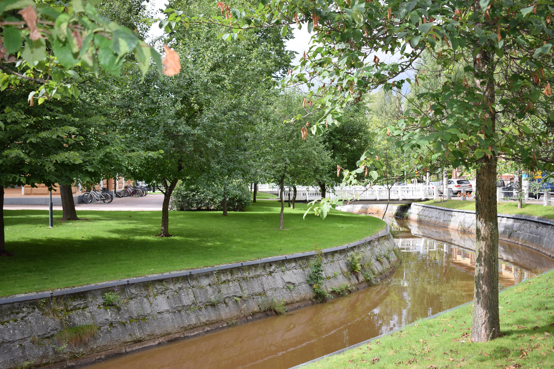 Nyt etsitään suomalaisten suosikkipuistoa. Osallistua hakuun voi kesäkuun loppuun saakka. Oulun kanavapuisto saattaa olla mukana. (Kuva: Sonja Eloranta)