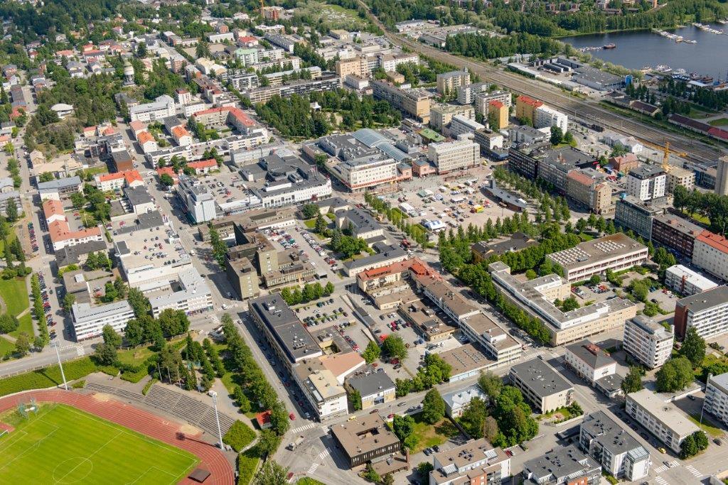 Kaupungeilta vaaditaan yhä uusia toimintatapoja ja nopeaa varautumista muutoksiin. (Kuva: Mikkelin kaupunki)