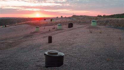 HSY:n Ekomossa on jo kokeiltu mm. hiekoitusmurskeen kierrätystä. Nyt Ekomossa mallinnetaan jätemateriaalivirtoja.(Kuva HSY)