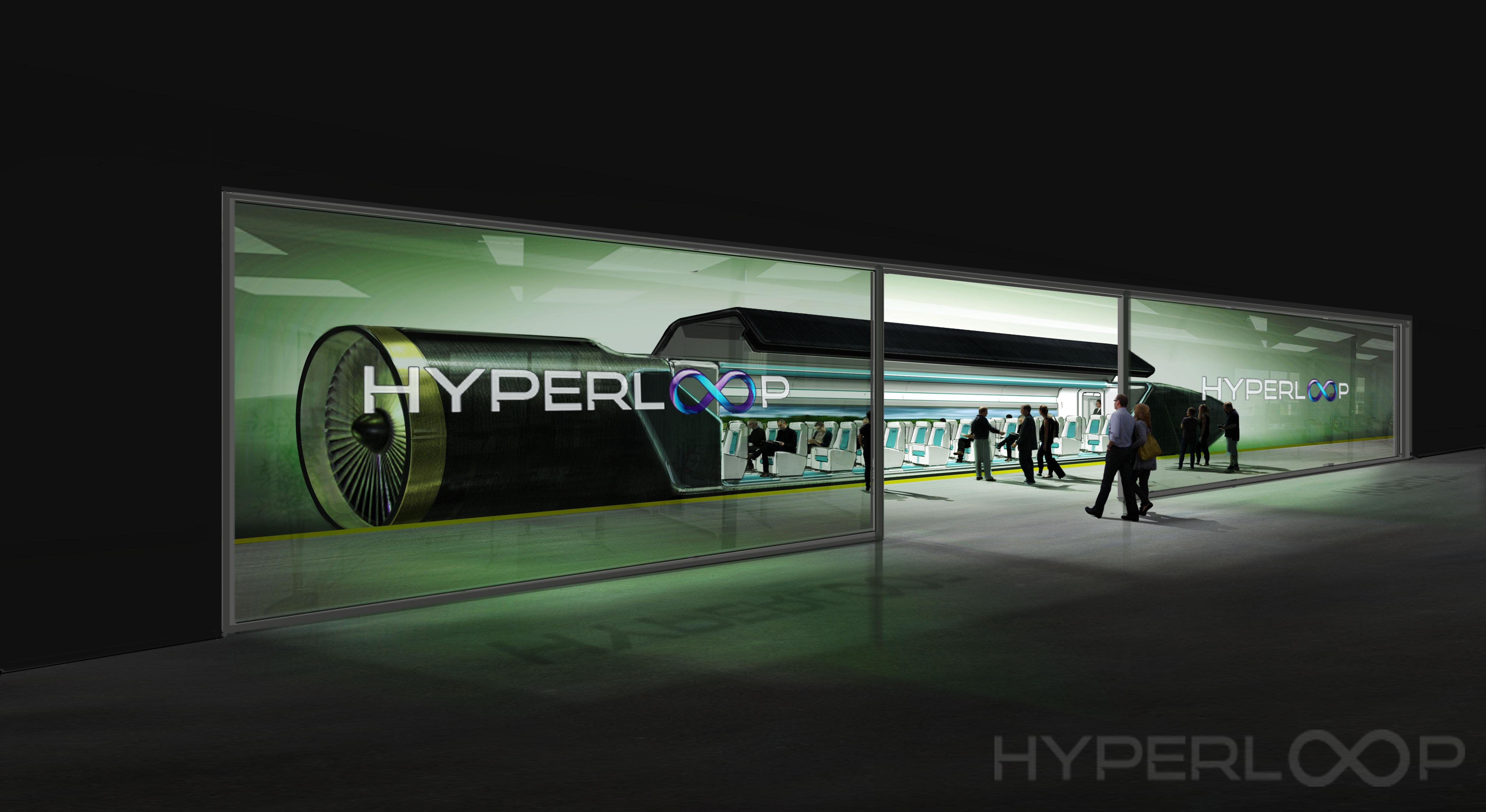 Hyperloop etenee Suomessa: Salossa selvitetään nyt testiradan rakentamisen edellytyksiä ja mukana rahoittajana on myös Tekes. (Kuva: HyperloopOne)