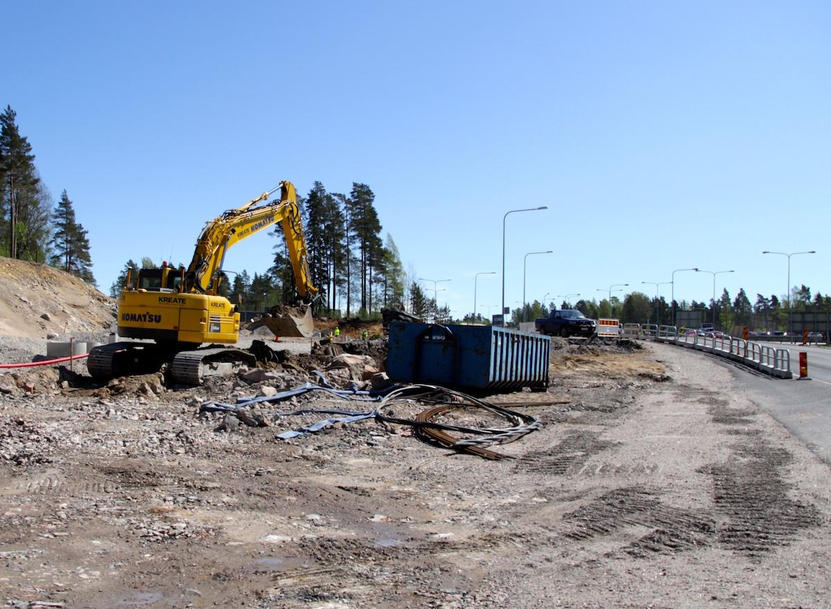 Väyläpolitiikka ei Suomessa ole riittävän pitkäjänteistä, arvioi selvitysmies Erkki Virtanen. (Kuva: Ville Mietinen)