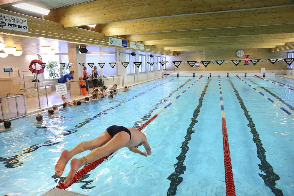 Eniten OKM:n avustuksia saivat uimahallit. (Kuva: Seppo Haavisto)