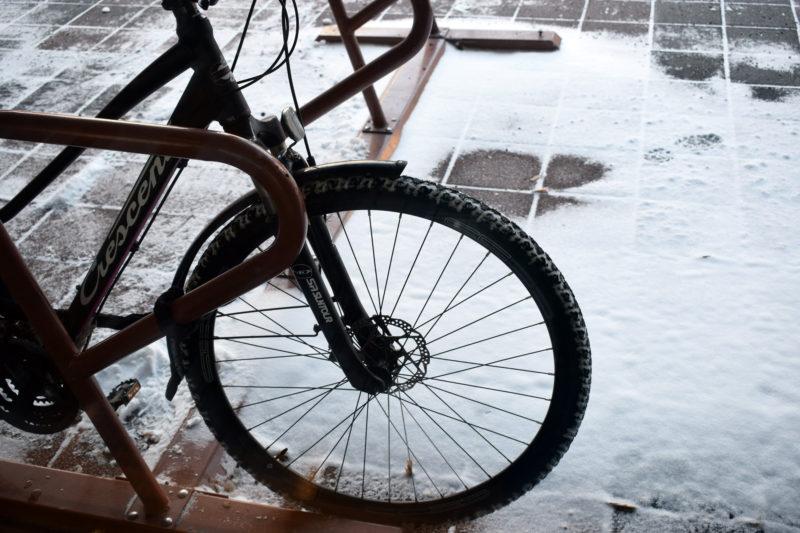 Lappeenranta pyrkii lisäämään polkupyöräilyä henkilöstönsä työmatkaliikkumisessa. (Kuva: Sonja Eloranta)