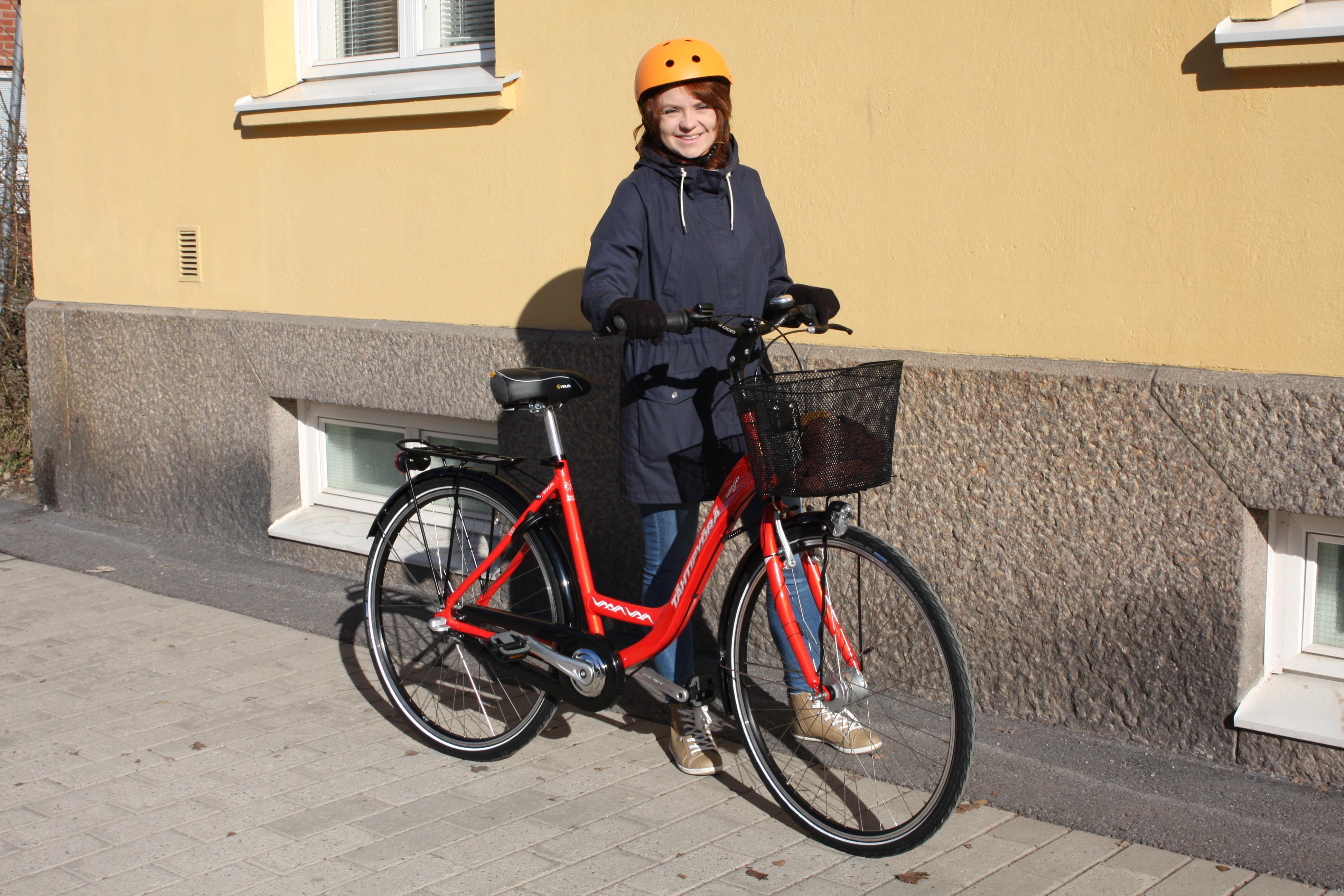 Vaasan kaupungin henkilöstöllä on nyt 29 työpäiväpyörää käytössä.