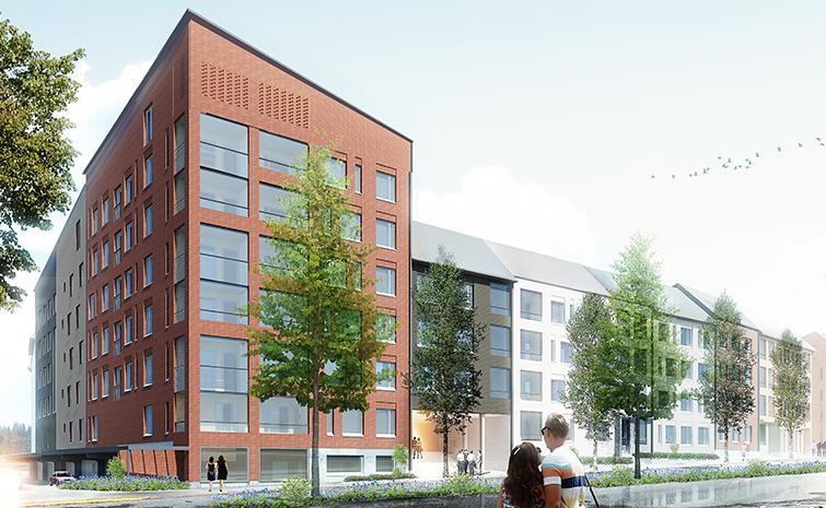 Helsingin kaupunki on saanut ensimmäiset vihreät rahoituksensa Kuninkaantammen ilmastoystävällisiin rakennuskohteisiin.
