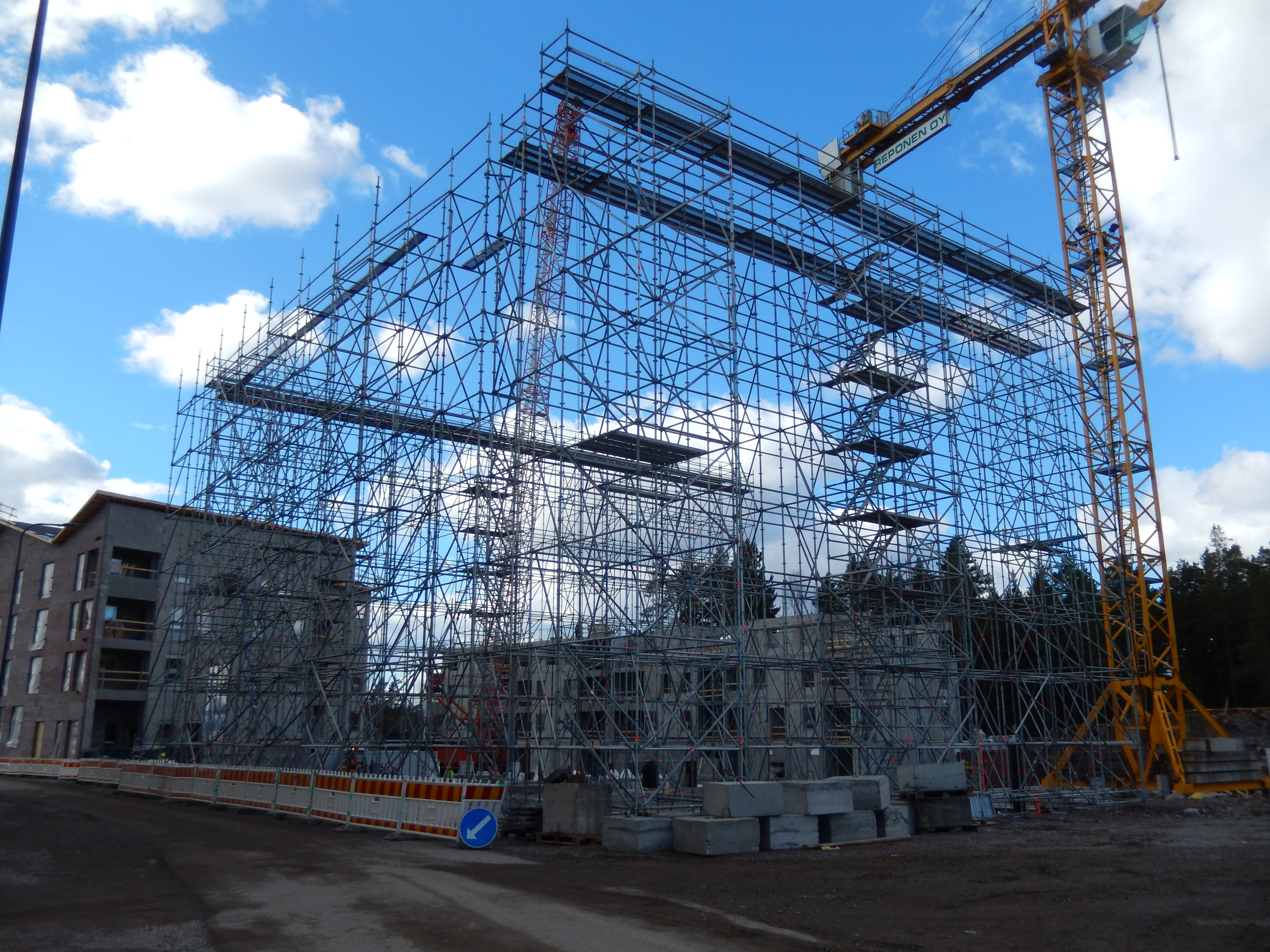 Rakentamisen digitalisaatiota edistäviin KIRA-digihankkeisiin on suunnattu jo lähes kaksi miljoonaa euroa. (Kuva: Markku Vento)