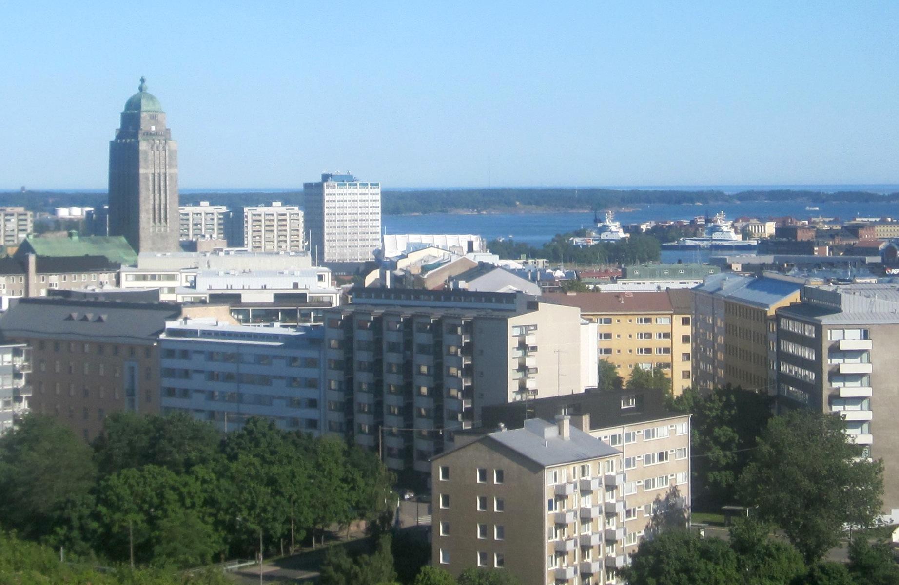 Asuminen haukkaa suuren osan tuloista erityisesti pääkaupunkiseudulla. (Kuva: Ville Miettinen)