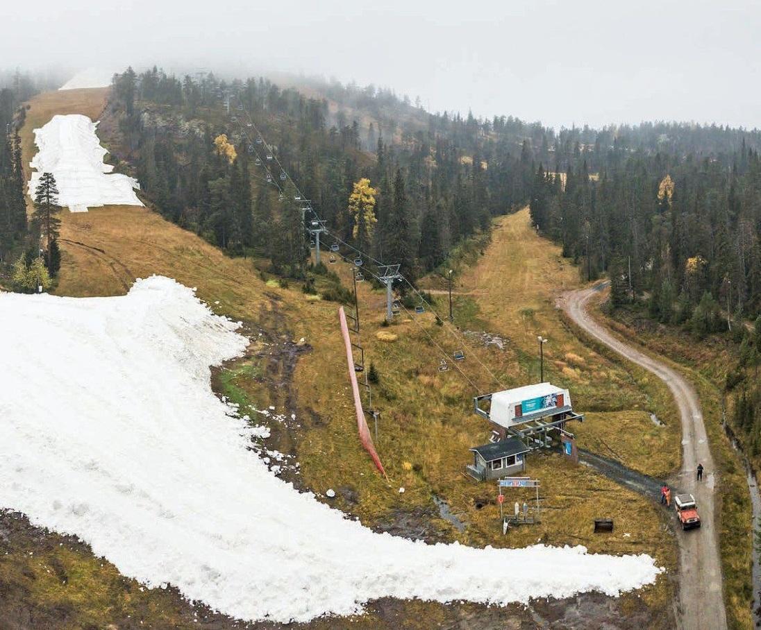 Ilmastonmuutos Pakottaa Hiihtokeskukset Sailomaan Lunta