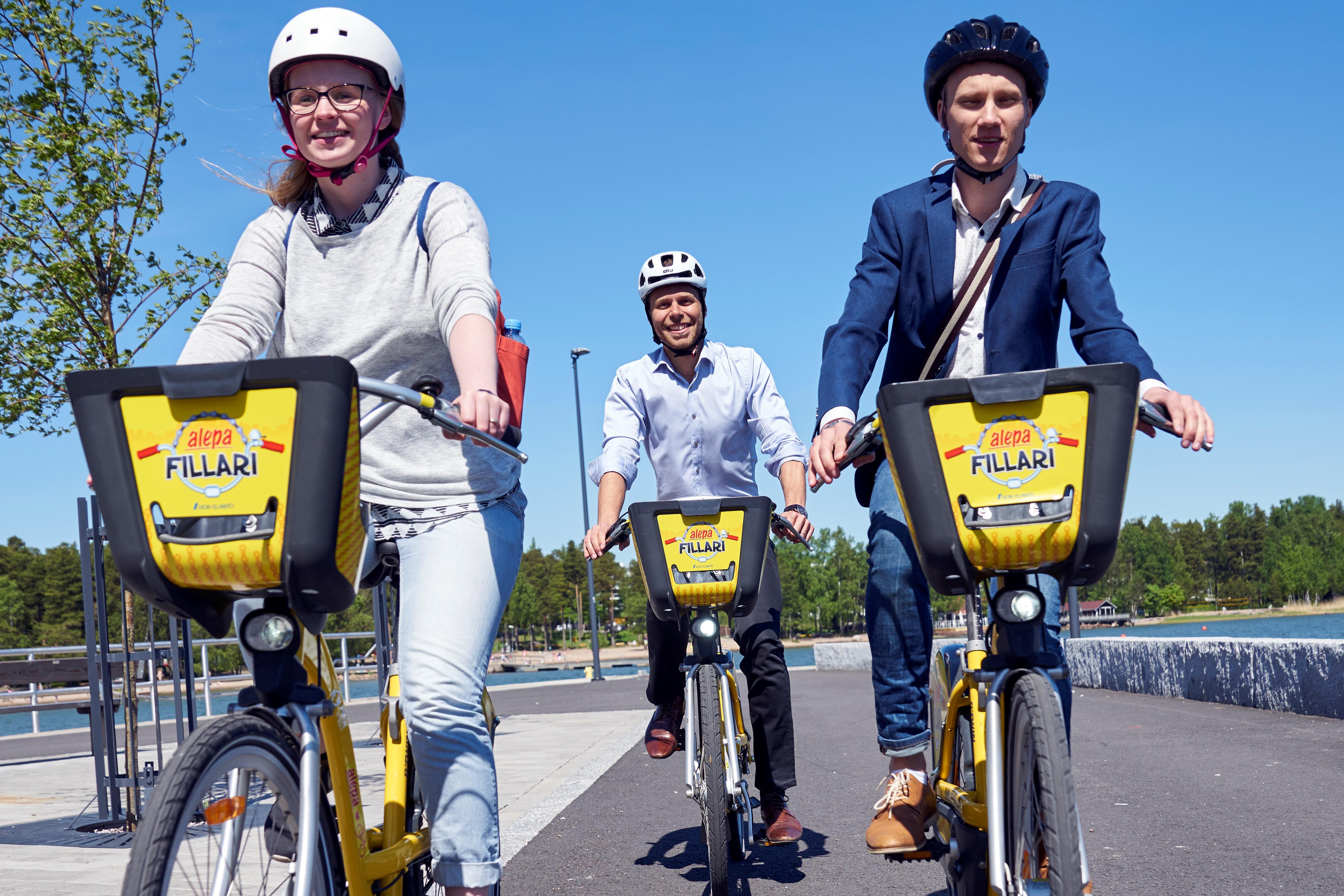 Kaupunkipyörät Espoo