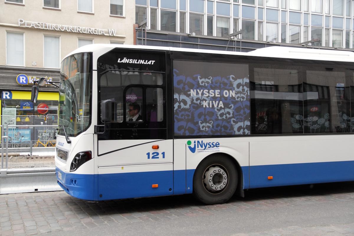 Tampere Jyväskylä Bussi