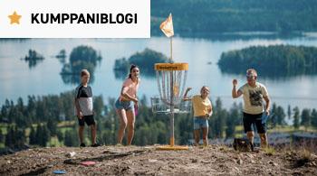 FrisbeeGolfPark kumppaniblogi