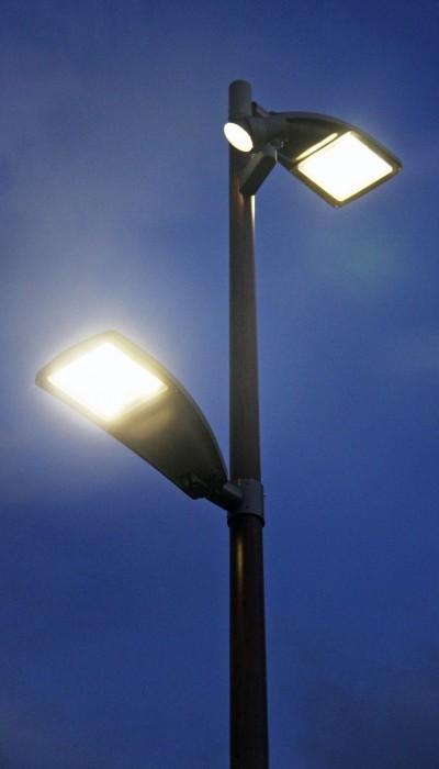 Säädettävä led-valaisin tarjoaa uusia mahdollisuuksia ulkovalaistuksen optimointiin.