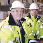 Risto Partanen ja Juha Ahonen sanovat hankkeen edenneen alkuvaikeuksien jälkeen hyvin.