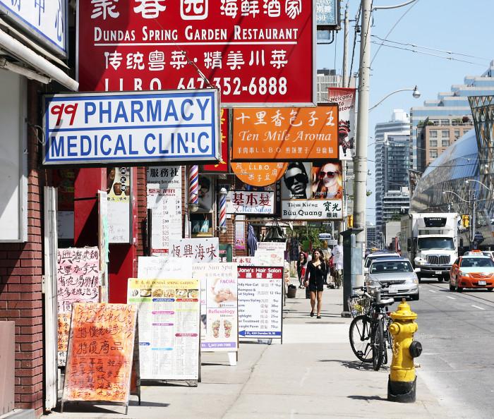 Toronton Chinatown BIAlla riittää yrittäjiä.