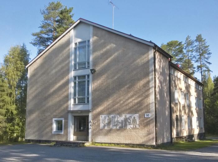 Kontiorannan varuskuntasairaala valmistui 1954.