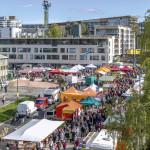 Kaupungintalon kupeessa sijaitsevaa uutta toria testattiin syksyllä maalaismarkkinoilla.