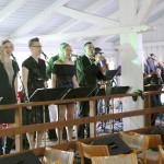 Torstai-illan Get together -tapahtuman riemukkaana viihdyttäjänä esiintyi ABGB-yhtye.