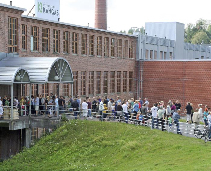 Jyväskylän Kankaan vanhan paperitehtaan alue on yksi merkittävimmistä resurssiviisaiden ratkaisujen pilottialueista.