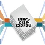 Kaaviokuva kiinteistöpalvelujen hankinta-asiakirjakokonaisuuden muodostumisesta.