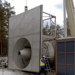Pien-Saimaan tilan parantamiseksi kehitetty potkuripumppu siirtää vettä kymmenen kuutiota sekunnissa.