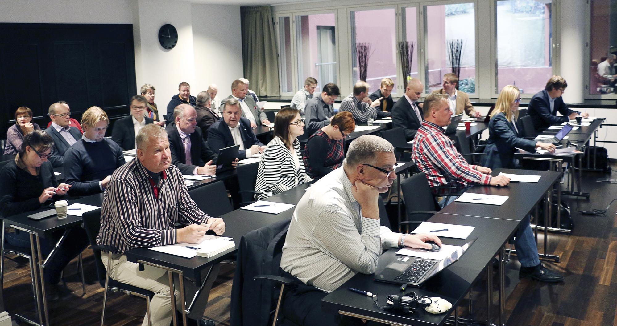 SKTY:n Syyspäivillä Lahdessa lokakuussa 2014 keskusteltiin varautumisesta ja kriisiviestinnästä.