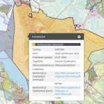 Yleiskaavapalvelussa on paikkatietoa yleiskaavoista koko maan kattavasti. Lähde: SYKE:n Elinympäristön tietopalvelu Liiteri / 16.9.2015, yleiskaava-aineisto on kerätty kunnilta, konsulteilta, ELY-keskuksilta ja SYKEltä.