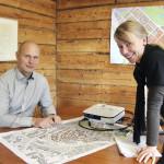 Relator Oy:n tietoturva-asiantuntija Riku Nykänen ja Jyväskylän kaupungin projektipäällikkö Tanja Oksa haluavat osallistaa jyväskyläläiset kyberturvallisuuden osaajat oppilaitoksissa, kehittämisyksiköissä ja yrityksissä Kankaan alueen suunnitteluun.
