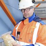 Turku Energian Jari Lahtinen korostaa suunnittelun ja tiedotuksen tärkeyttä isossa rakennushankkeessa. Hyvänä apuna oli pilvipalvelu, jonka kautta projektin tuoreimmat dokumentit saattoi lukea älypuhelimella.