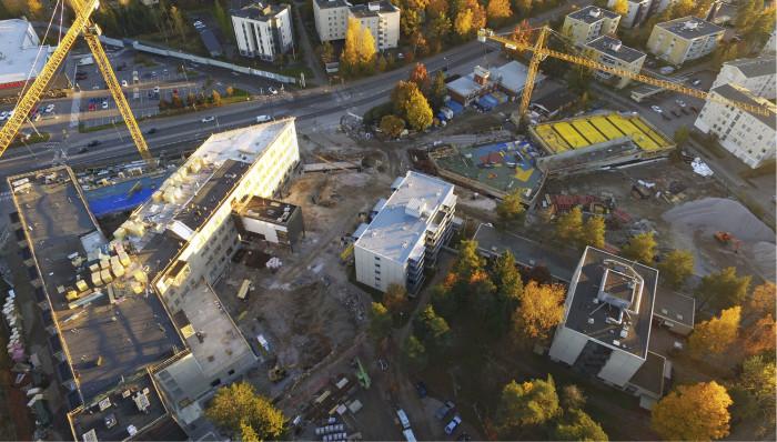 Myllynkulma on ehdokkaana Vuoden työmaa 2015  kilpailussa.