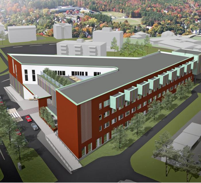 Järvenpään uusi sosiaali- ja terveyskeskus kokoaa hajallaan olevat sote-palvelut saman katon  alle.