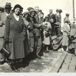 Kotkan vuosikokouksen yhteydessä 1931 vierailtiin myös Suursaaressa.