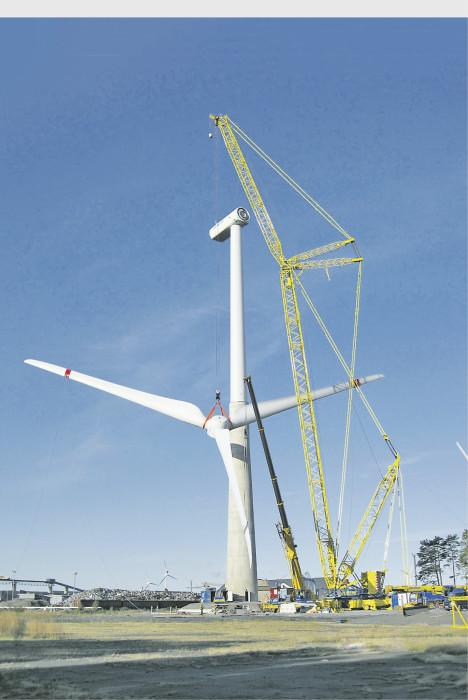 Myös Helsingissä tuulivoimaa kaavaillaan sijoitettavaksi kaupungin edustalle ulkosaaristoon. Porissa valmistui tuulivoimala Tahkoluodolle vuonna 2009.