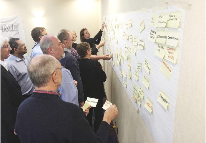 IFME:n vilkasta strategiasuunnittelua.