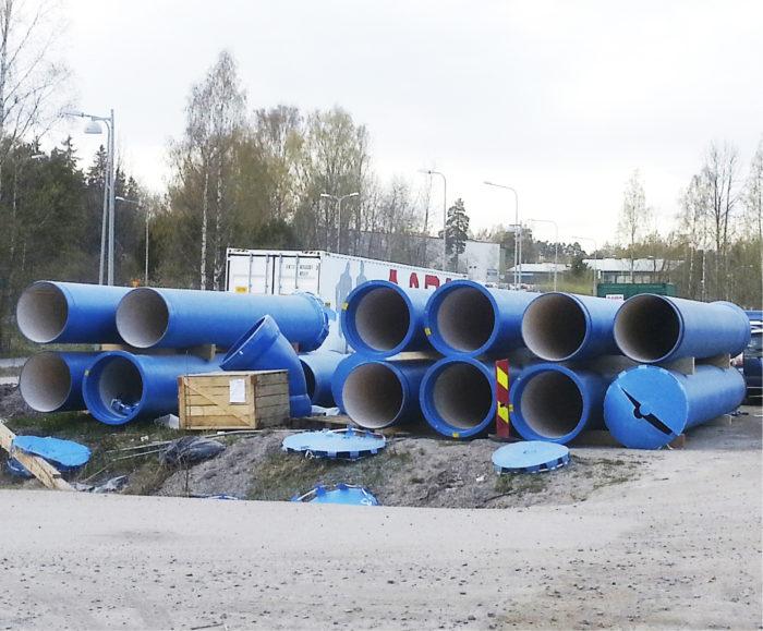 Asianmukaista vesijohtotuotteiden suojatulppausta?