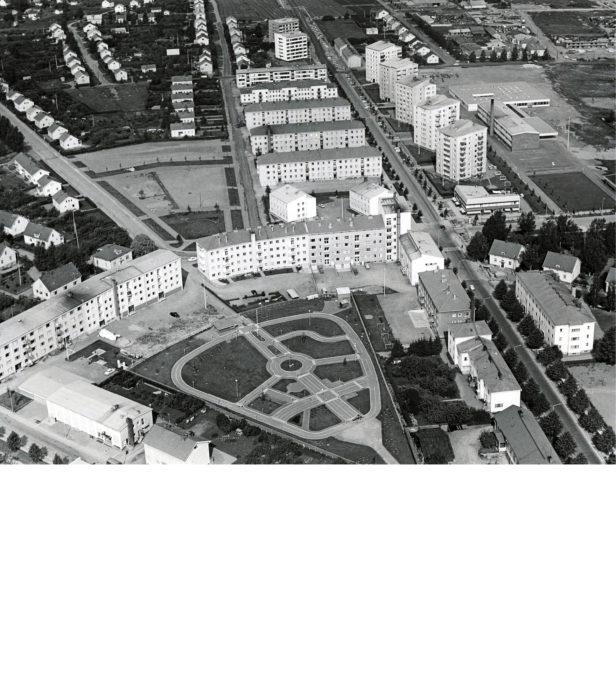 Kaurialan liikennepuisto oli komea lisä Hämeenlinnaan 1960-luvun alussa.