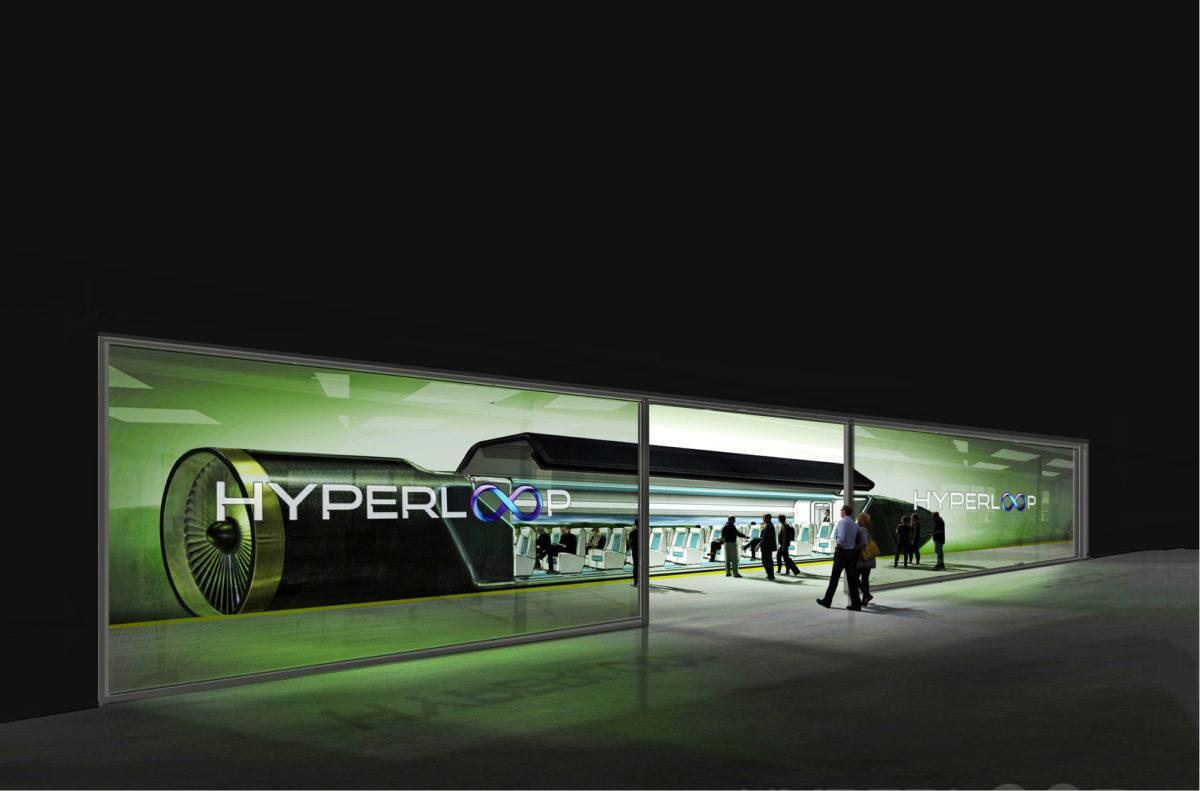 HyperloopOne-putkijunan kapseleihin mahtuu satakunta matkustajaa. Kapseleiden vuoroväliksi on kaavailtu vain muutamaa minuuttia ruuhka-aikoina.