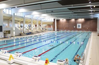 Myös urheiluhallit lukeutuvat rakennuksiin, joita uusi laki koskee.